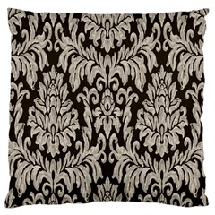 Wild Textures Damask Wall Cover Large Cushion Case (one Side) by Jojostore