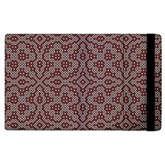 Simple Indian Design Wallpaper Batik Apple Ipad 3/4 Flip Case by Jojostore