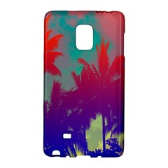 Tropical Coconut Tree Galaxy Note Edge by Jojostore