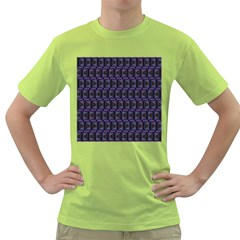 Psychedelic 70 S 1970 S Abstract Green T-Shirt