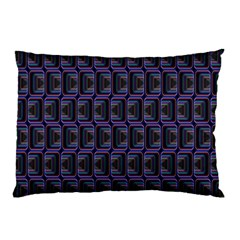 Psychedelic 70 S 1970 S Abstract Pillow Case (Two Sides) by Nexatart