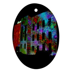 Science Center Ornament (Oval) by Nexatart