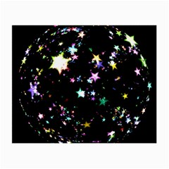 Star Ball About Pile Christmas Small Glasses Cloth by Nexatart