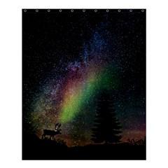 Starry Sky Galaxy Star Milky Way Shower Curtain 60  X 72  (medium)  by Nexatart