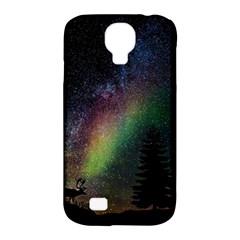 Starry Sky Galaxy Star Milky Way Samsung Galaxy S4 Classic Hardshell Case (pc+silicone) by Nexatart