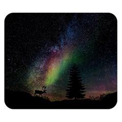 Starry Sky Galaxy Star Milky Way Double Sided Flano Blanket (small)  by Nexatart