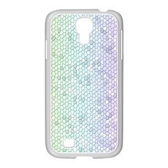 The Background Wallpaper Mosaic Samsung GALAXY S4 I9500/ I9505 Case (White)