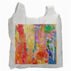 Watercolour Watercolor Paint Ink  Recycle Bag (two Side)  by Nexatart