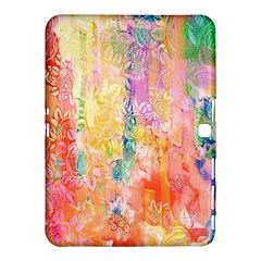 Watercolour Watercolor Paint Ink  Samsung Galaxy Tab 4 (10.1 ) Hardshell Case
