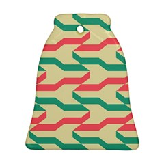 Exturas On Pinterest  Geometric Cutting Seamless Bell Ornament (two Sides) by Jojostore