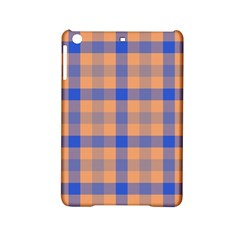 Fabric Colour Orange Blue Ipad Mini 2 Hardshell Cases by Jojostore