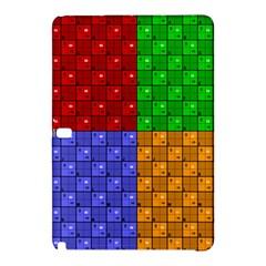 Number Plaid Colour Alphabet Red Green Purple Orange Samsung Galaxy Tab Pro 12 2 Hardshell Case by Jojostore
