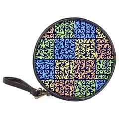 Puzzle Color Classic 20-CD Wallets by Jojostore