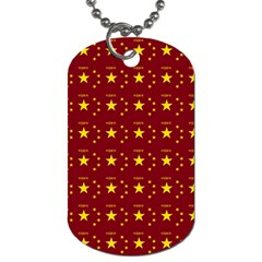 Chinese New Year Pattern Dog Tag (two Sides) by dflcprints