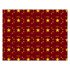 Chinese New Year Pattern Rectangular Jigsaw Puzzl by dflcprints