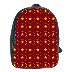 Chinese New Year Pattern School Bags (xl)  by dflcprints