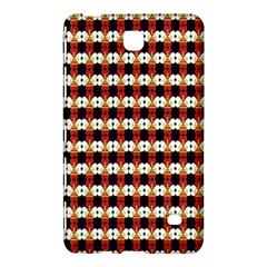 Queen Of Hearts  Hat Pattern King Samsung Galaxy Tab 4 (7 ) Hardshell Case  by Jojostore