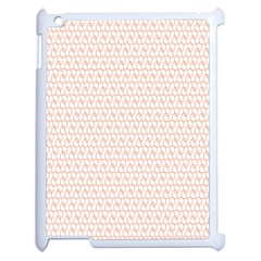 Rose Gold Line Apple Ipad 2 Case (white) by Jojostore
