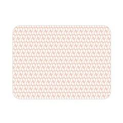 Rose Gold Line Double Sided Flano Blanket (mini)  by Jojostore