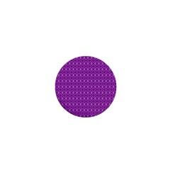 Surface Purple Patterns Lines Circle 1  Mini Magnets by Jojostore