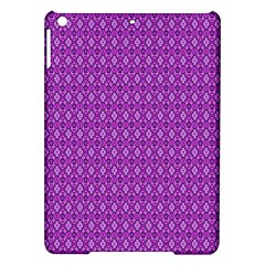 Surface Purple Patterns Lines Circle Ipad Air Hardshell Cases by Jojostore