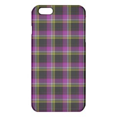 Tartan Fabric Colour Purple Iphone 6 Plus/6s Plus Tpu Case by Jojostore