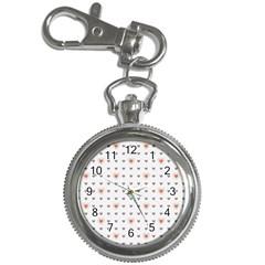 Heart Love Valentine Purple Pink Key Chain Watches by Jojostore