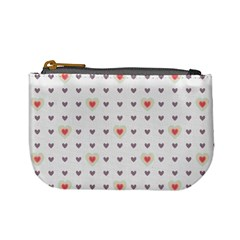 Heart Love Valentine Purple Pink Mini Coin Purses by Jojostore