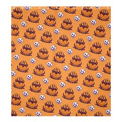 Helloween Moon Mad King Thorn Pattern Shower Curtain 66  X 72  (large)  by Jojostore