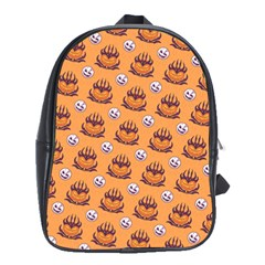 Helloween Moon Mad King Thorn Pattern School Bags(large)  by Jojostore