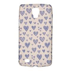 Heart Love Valentine Pink Blue Galaxy S4 Active by Jojostore