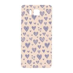 Heart Love Valentine Pink Blue Samsung Galaxy Alpha Hardshell Back Case by Jojostore