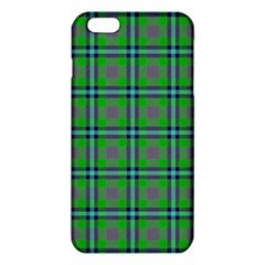 Tartan Fabric Colour Green Iphone 6 Plus/6s Plus Tpu Case by Jojostore