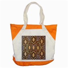 Aborigianal Austrialian Contemporary Aboriginal Flower Accent Tote Bag by Jojostore