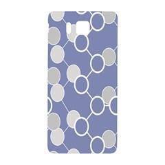 Circle Blue Line Grey Samsung Galaxy Alpha Hardshell Back Case by Jojostore