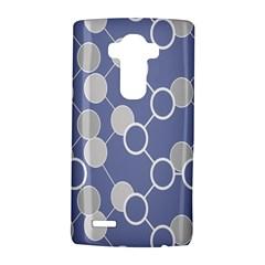 Circle Blue Line Grey LG G4 Hardshell Case by Jojostore