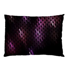 Fabulous Purple Pattern Wallpaper Pillow Case by Jojostore