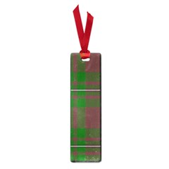 Cardney Tartan Fabric Colour Green Small Book Marks by Jojostore