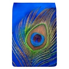 Blue Peacock Feather Flap Covers (s)