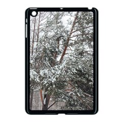 Winter Fall Trees Apple Ipad Mini Case (black) by ansteybeta