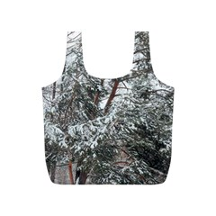 Winter Fall Trees Full Print Recycle Bags (s)  by ansteybeta