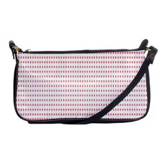 Dalmatian Red Circle Shoulder Clutch Bags by Jojostore