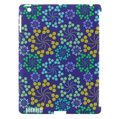 Color Variationssparkles Pattern Floral Flower Purple Apple Ipad 3/4 Hardshell Case (compatible With Smart Cover) by Jojostore