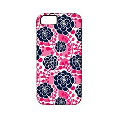 Flower Floral Rose Purple Pink Leaf Apple Iphone 5 Classic Hardshell Case (pc+silicone) by Jojostore