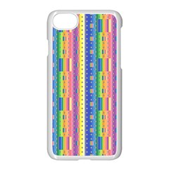 Psychedelic Carpet Apple Iphone 7 Seamless Case (white) by Jojostore