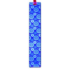 Neon Circles Vector Seamles Blue Large Book Marks by Jojostore