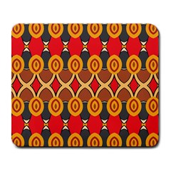Ovals Pattern                                                         			large Mousepad by LalyLauraFLM