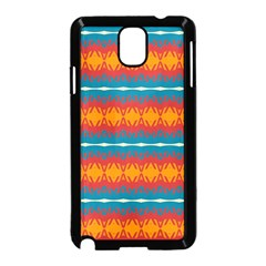 Shapes Rows                                                         samsung Galaxy Note 3 Neo Hardshell Case (black) by LalyLauraFLM