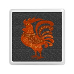 Chicken Year Memory Card Reader (square)  by Valentinaart