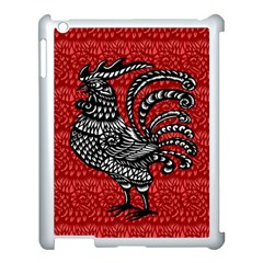 Year Of The Rooster Apple Ipad 3/4 Case (white) by Valentinaart